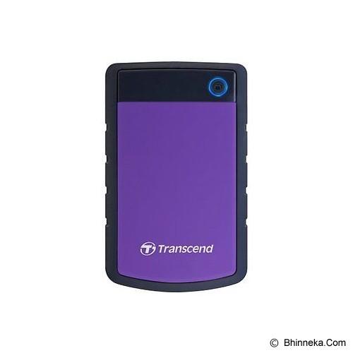 TRANSCEND Storejet 25H3 USB 3.0 2TB [TS2TSJ25H3P] (Merchant) - Hard Disk External 2.5 Inch